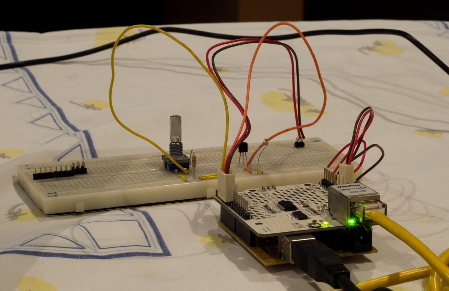 Prototype Hardware Sensor Module