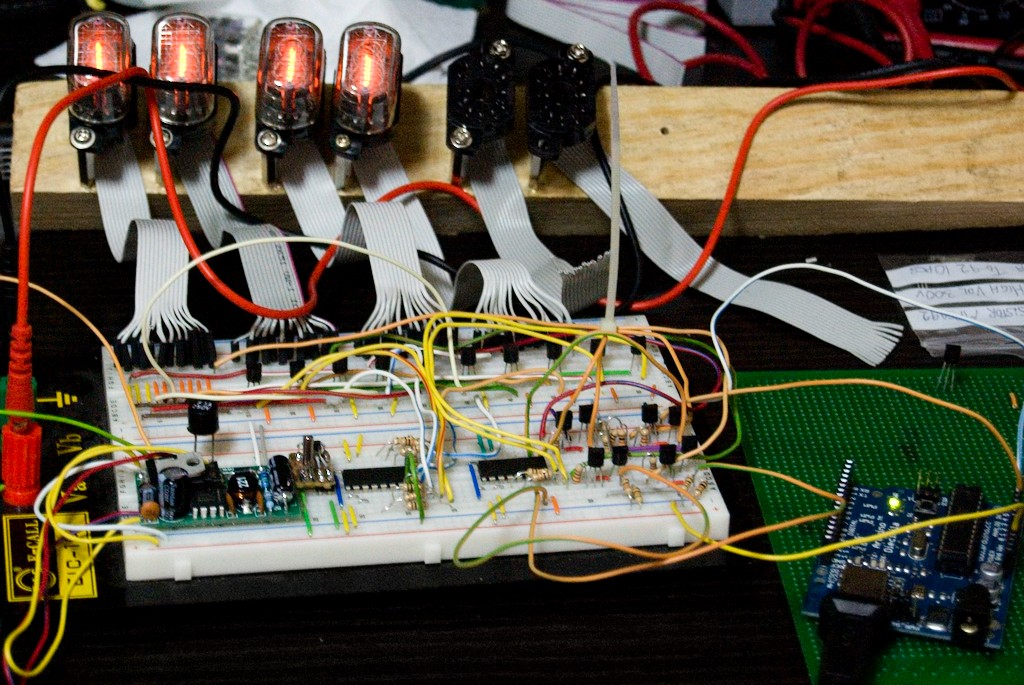 Nixie Driver Electronic Components