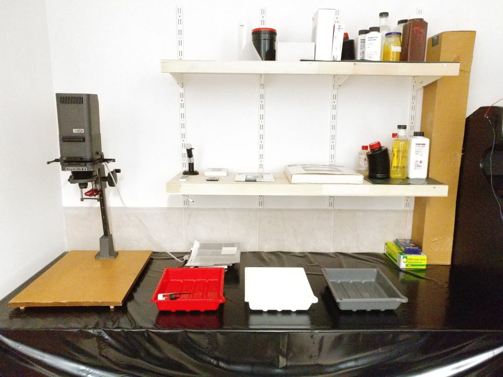 Darkroom after renovation